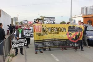 Manifestación en Alcalá de Guadaíra. 12 nov. 2016.